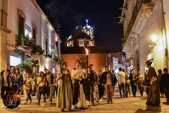 Night Walking Tour Legends and Myths of Queretaro