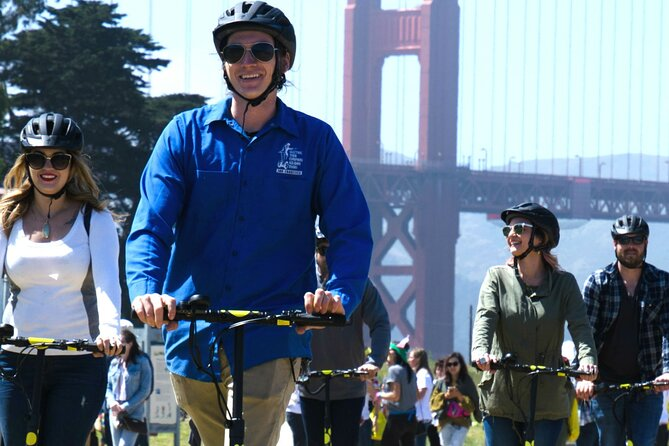 3 Hours Private VIP E-Scooter Tour to Golden Gate Bridge