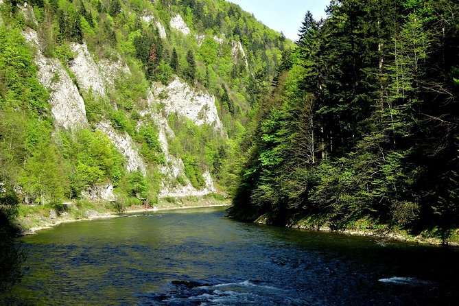 Dunajec River Gorge Rafting - private tour from Krakow