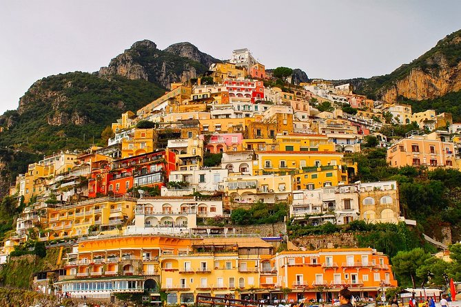 POSITANO EXCLUSIVE SHOPPING HD TOUR - from Sorrento