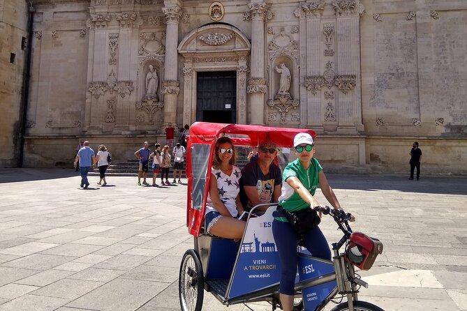 Lecce Rickshaw City Tour