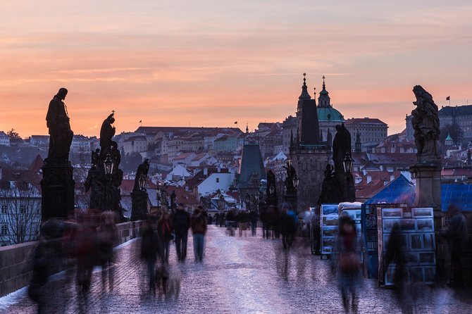 Outdoor city escape game with guiding - Prague