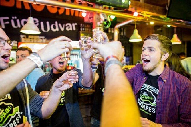 Budapest Original Ruin Pub Crawl Including 5 Shots