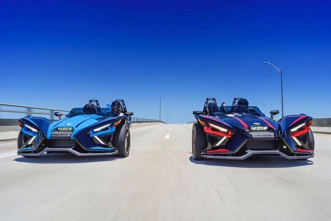 Full Day Polaris Slingshot Rental in Washington DC