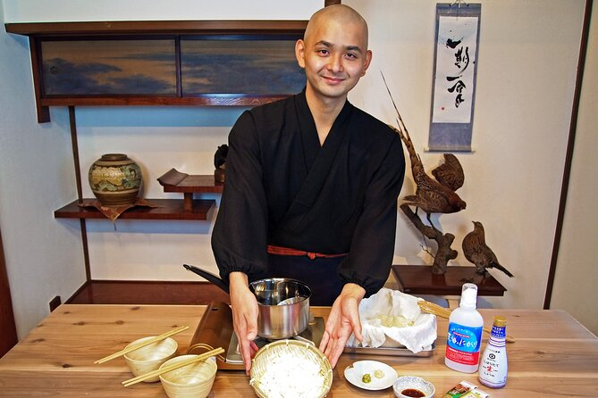 Tofu Virtual Cooking Class with a Buddhist Monk from Tokyo