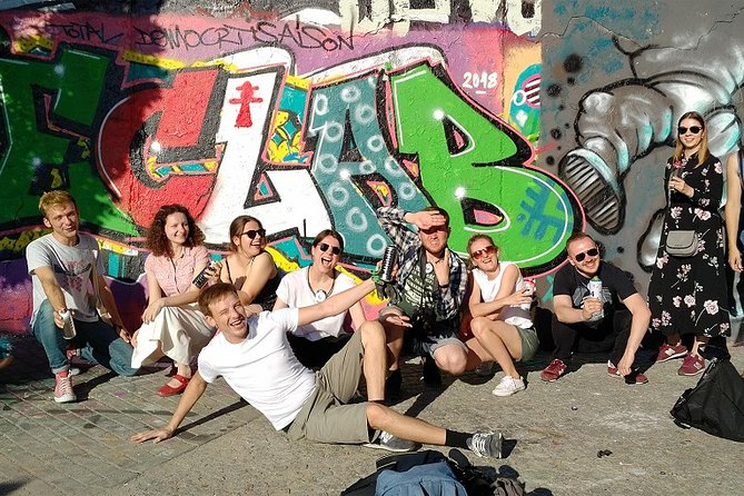 Graffiti workshop for companies / associations in the Mauerpark