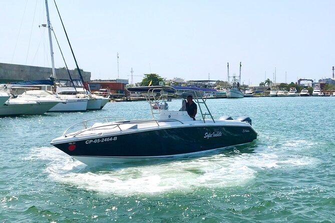 Excursão particular de barco Viagem de dia inteiro às Ilhas Rosário, Cholon, Baru