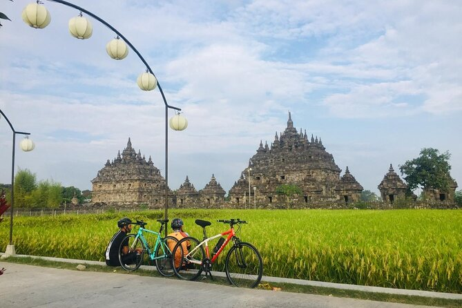 Fun Cycling around the villages and temples