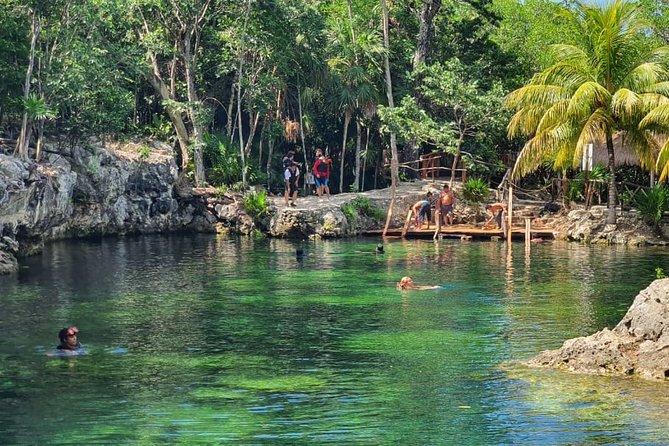 Cenotes Adventure from Playa del Carmen