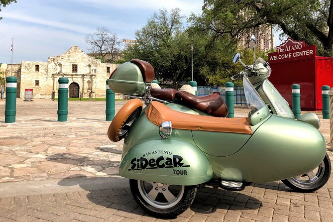 MISSIONS Vespa SiDeCaR Tour and Tacos