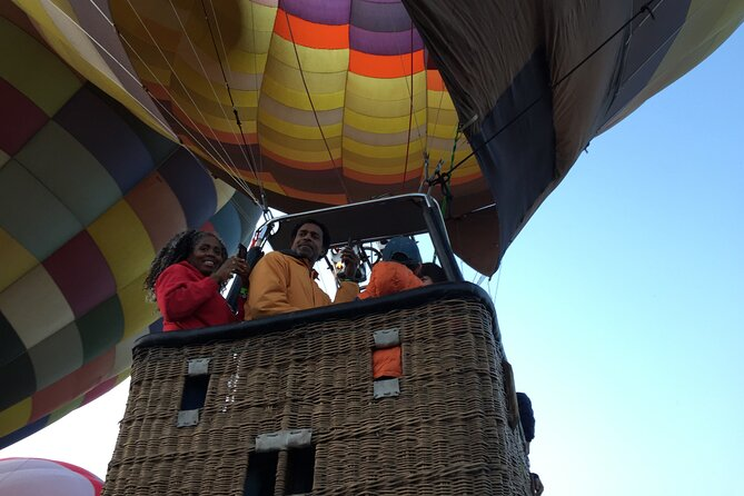 Hot Air Balloon Ride over Teotihuacan