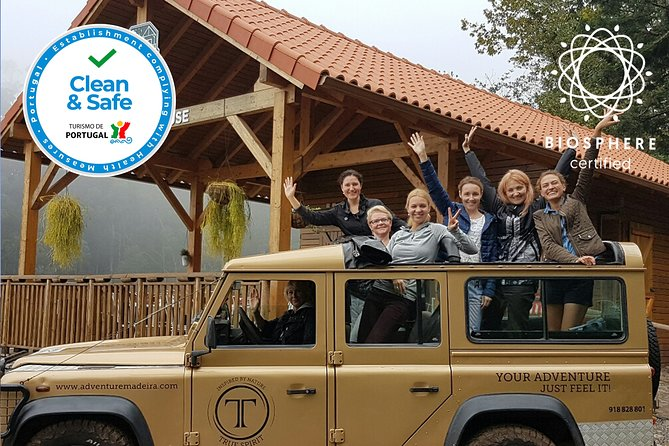 Private Madeira Full Day Jeep Tour: East or West