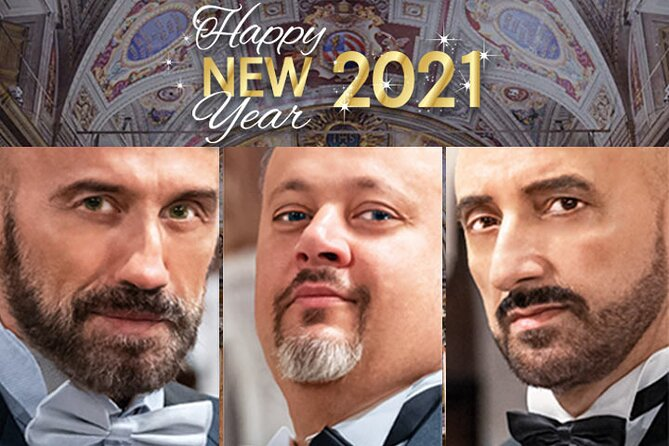 New Year's Eve Concerts in Rome: The Three Tenors