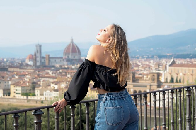 PHOTO SHOOT SESSION TOUR in FLORENCE