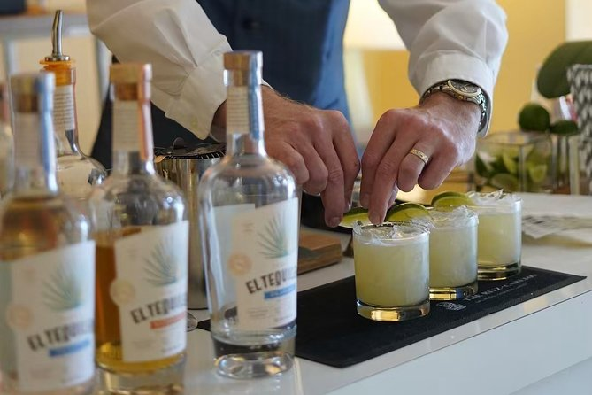 Sensory tasting and pairing with tequila expert master.