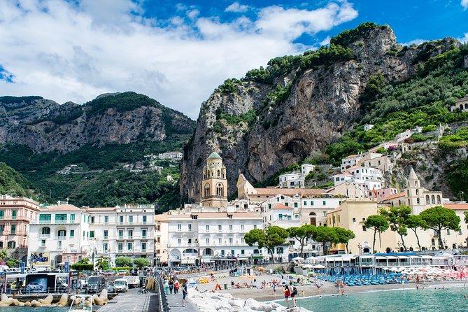 Positano, Amalfi and Pompeii in a Day Tour From Sorrento