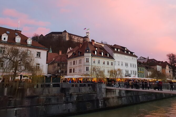 Private Walking Tour of Ljubljana with Castle and Scenic Tower