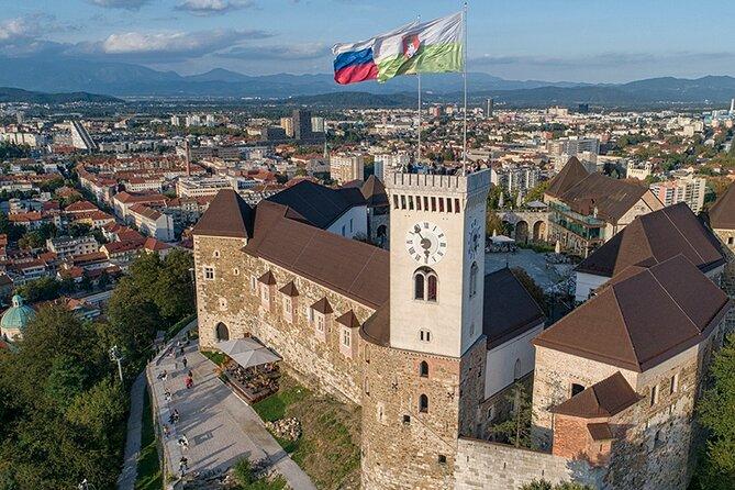 Ljubljana Castle Clock (View) Tower