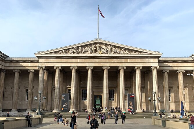 London British Museum Semi-Private Tour with Exclusive Kid-Friendly Guide