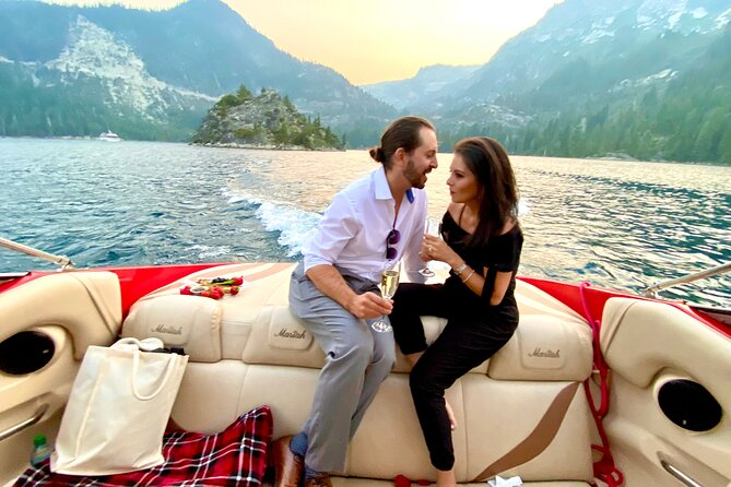Romantic Lake Tahoe Private Boat Charter