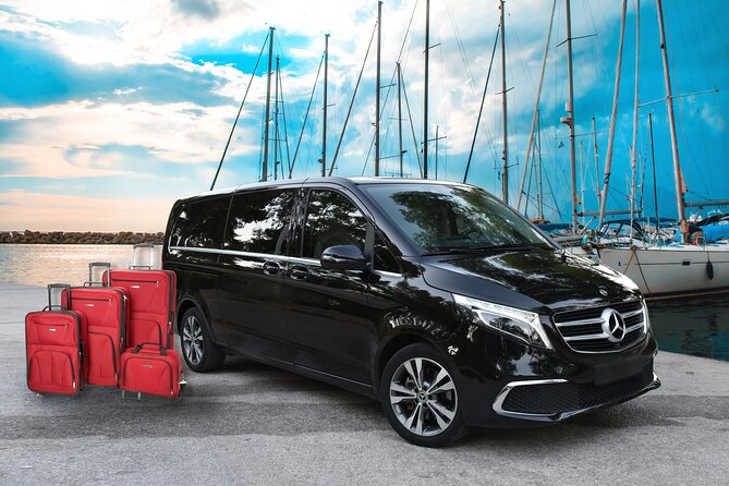 Private Transfer From Epidaurus Town/Port to Athens-Pireaus-Athens Airport