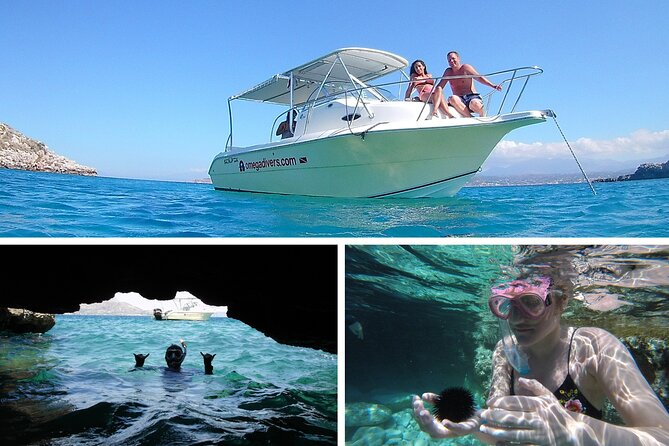 Boat Trip with Guided Snorkeling Tour & SUP in Chania