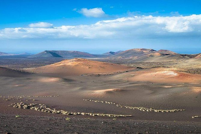 Bus and Entrance to Timanfaya National Park