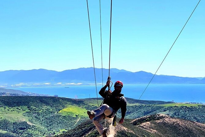 Zip lines and Valle de Guadalupe wine route