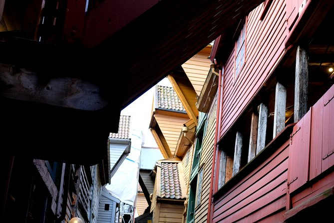Explore the secret alleys of Bryggen and get a true sense of the history of this place.