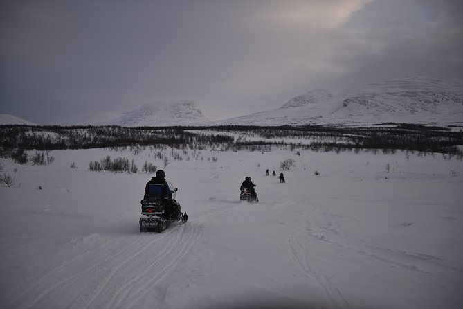 The Longest Snowmobile Tour in Abisko with Lunch