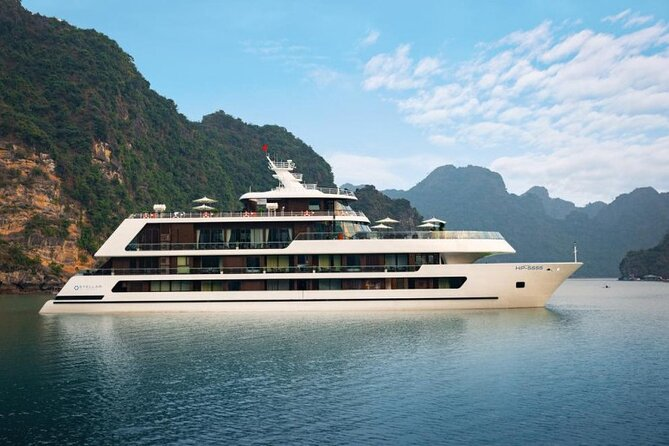 Stellar of the Seas Cruise Halong Bay 2Days 1Night on 5 Star Cruise