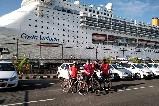 Fort Kochi Bike Tour with Pickup from Cruise Ships