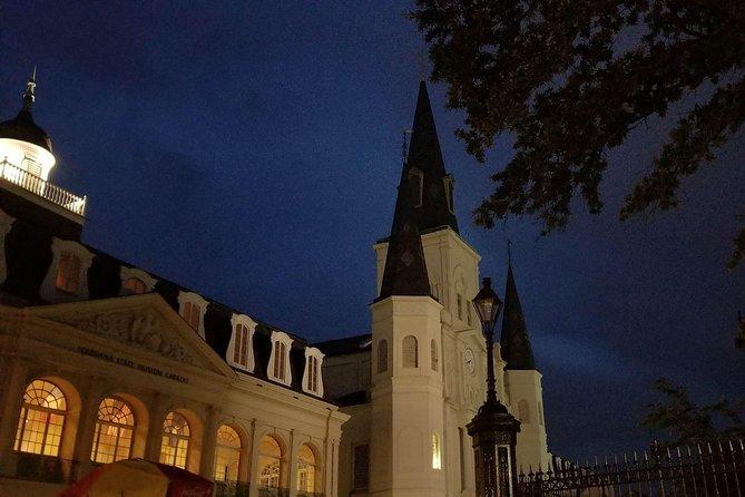 Night Walking Tour through haunted New Orleans