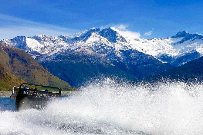 Glacier River Safari: 4WD plus Jet Boat and Wilderness Walk Tour