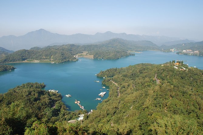 Sun Moon Lake Panoramic View from Ci'en Pagoda