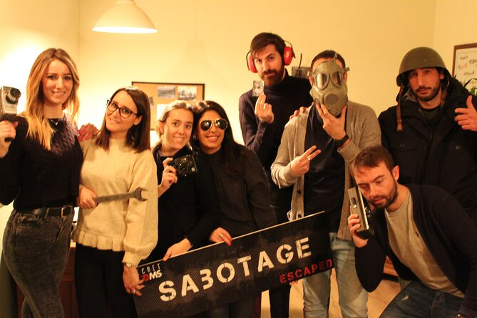 Nightmare and Sabotage DOUBLE CHALLENGE - Escape Room