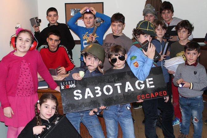 Nightmare e Sabotage JUNIOR ADVENTURE - Escape Room
