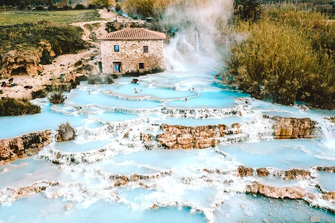 Full-Day Private Tour to Saturnia Bath and Montemerano Village From Rome