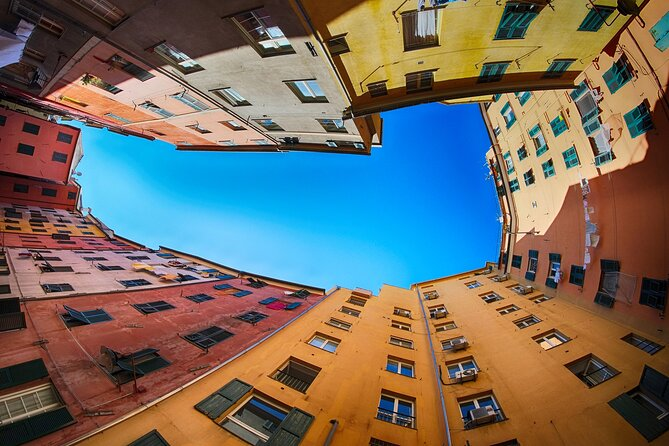 """Genoa Private Walking Tour with Ride up to the """"360 ° city view Balcony"""" by Lift"""