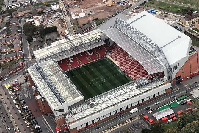 Liverpool City and Anfield Football Stadium Helicopter Tour