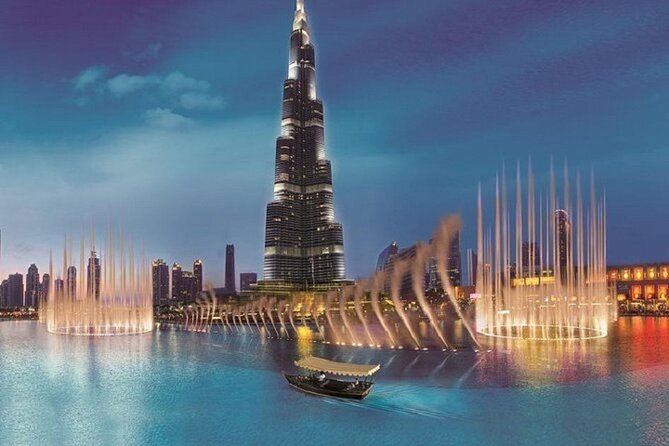 Enjoy Dubai City Tour at Night with Burj Khalifa Ticket
