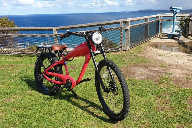 Vintage Styled Electric-Bike Hire Explore Byron Bay and Surrounds