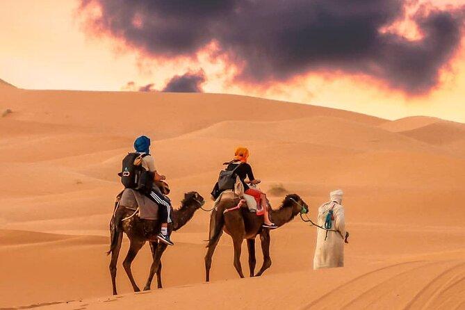 3-Day Sahara Desert To Merzouga From Marrakech & Camel Ride