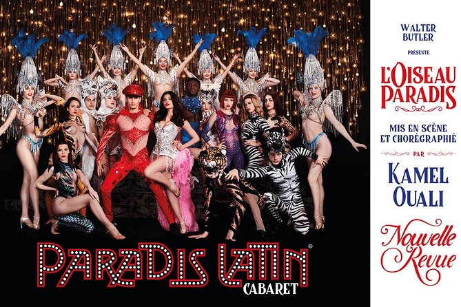 Paradis Latin Paris Cabaret Dinner & Show