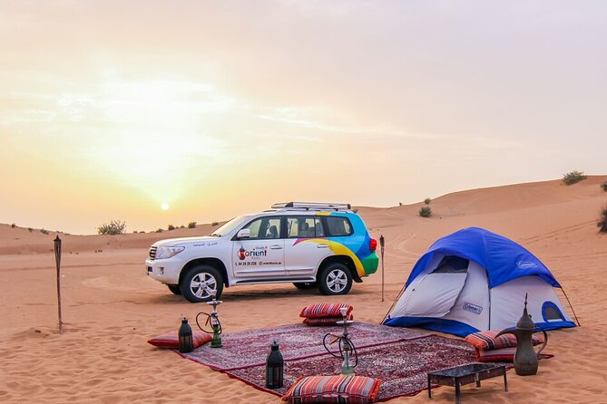 Enjoy Overnight Desert Experience with safari and BBQ Dinner