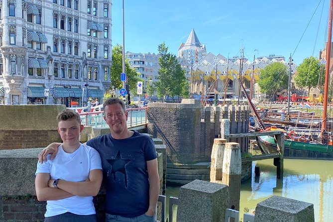 Rotterdam Private Tour: Old Town & Harbor Exploration Game With Puzzles
