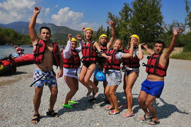 from Belek: Whitewater Rafting at Koprulu Canyon