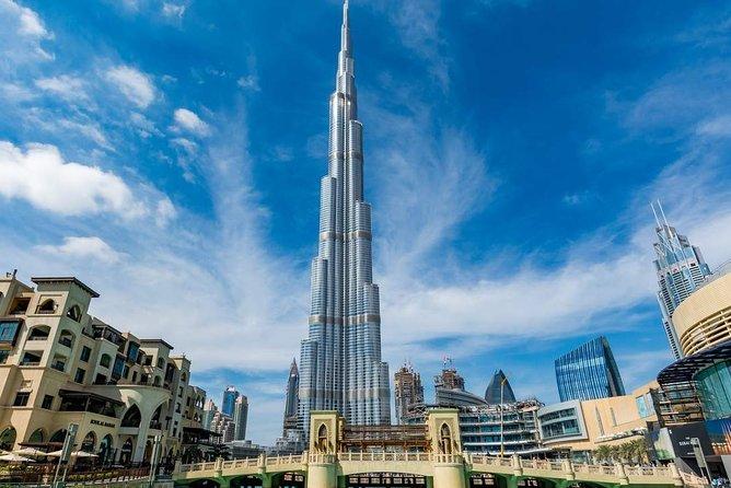 Dubai City Tour with Burj Khalifa at the top entry