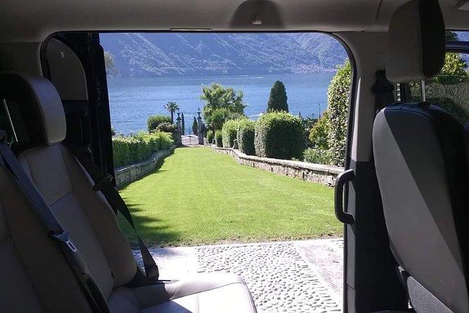 Transfer from Milan Malpensa Airport to Lake Como