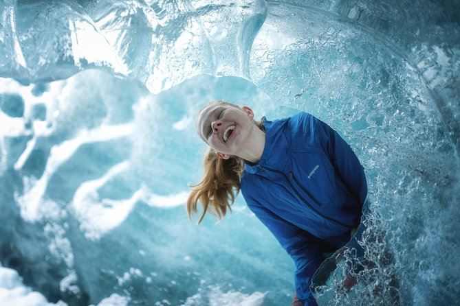 Half-Day Glacier and Ice Cave Hike + Photo Package